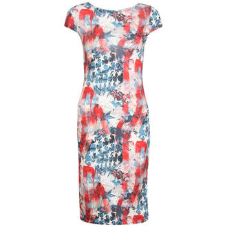 View Item USA Print Midi Dress